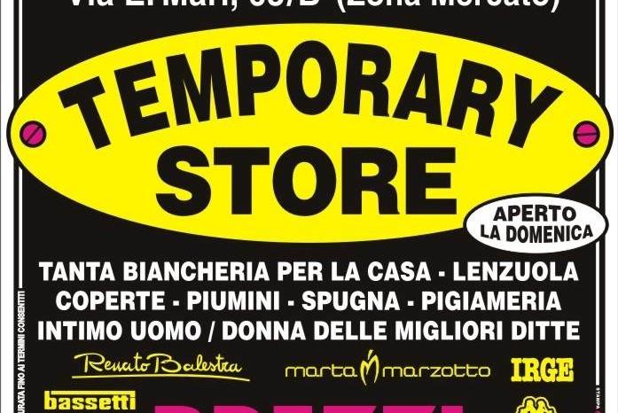 Magazzini Italiani Temporary Store ad Ascoli Piceno