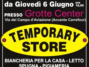 Temporary store