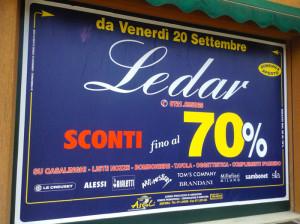 Vendita Promozinoale Ledar Calcinelli- Ascoli Alessandro