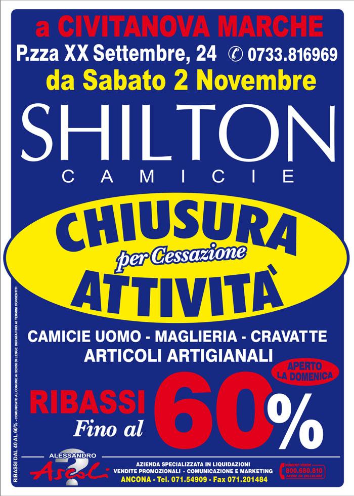 Cessazione Attività Shilton Camicie Civitanova Marche