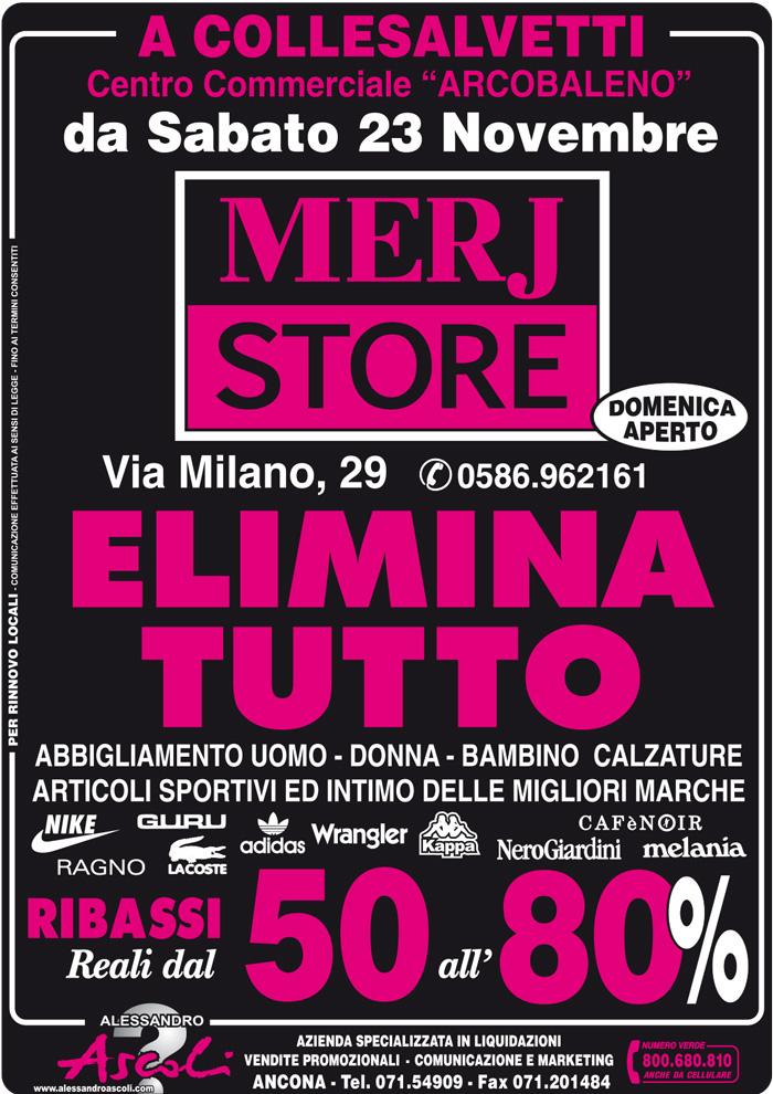Vendita Promozionale di Merj Store