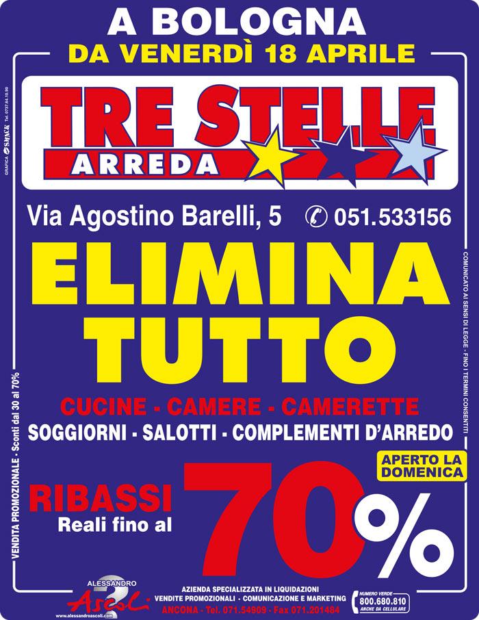 Organizzazione Vendita Promozionale Tre Stelle Bologna