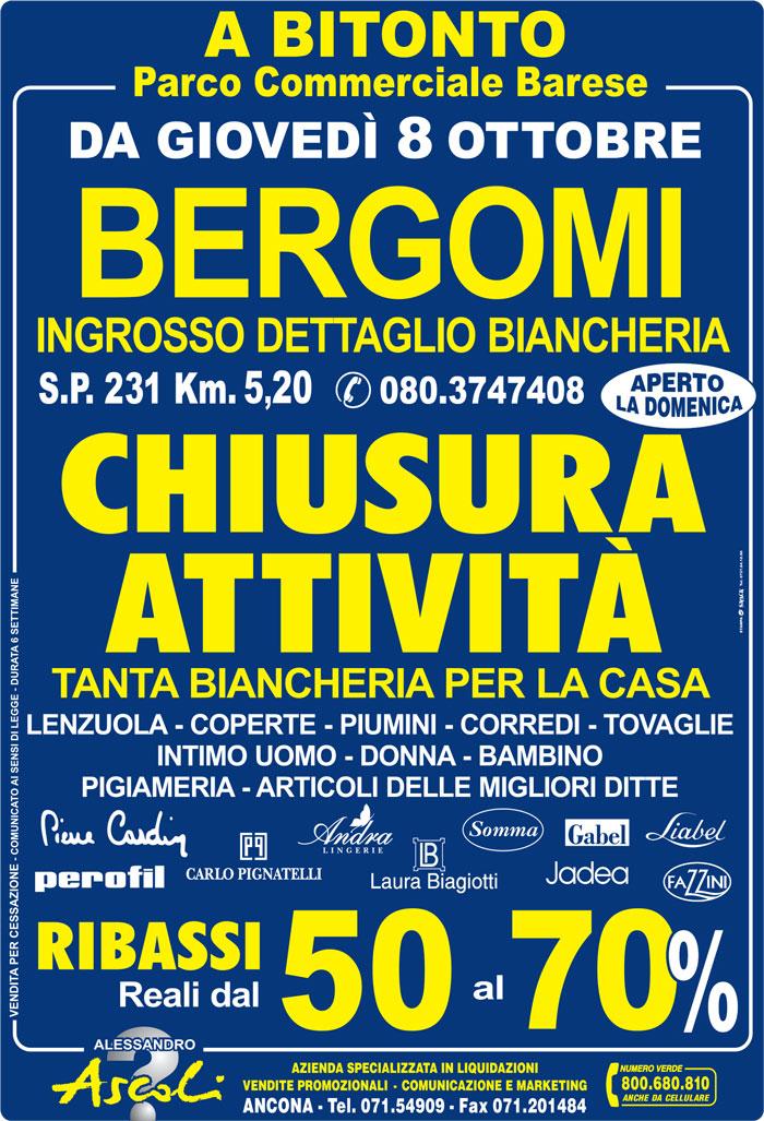 Chiusura Attività Bergomi