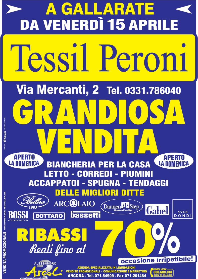 Organizzazione Vendita Promozionale Tessil Peroni Tessuti