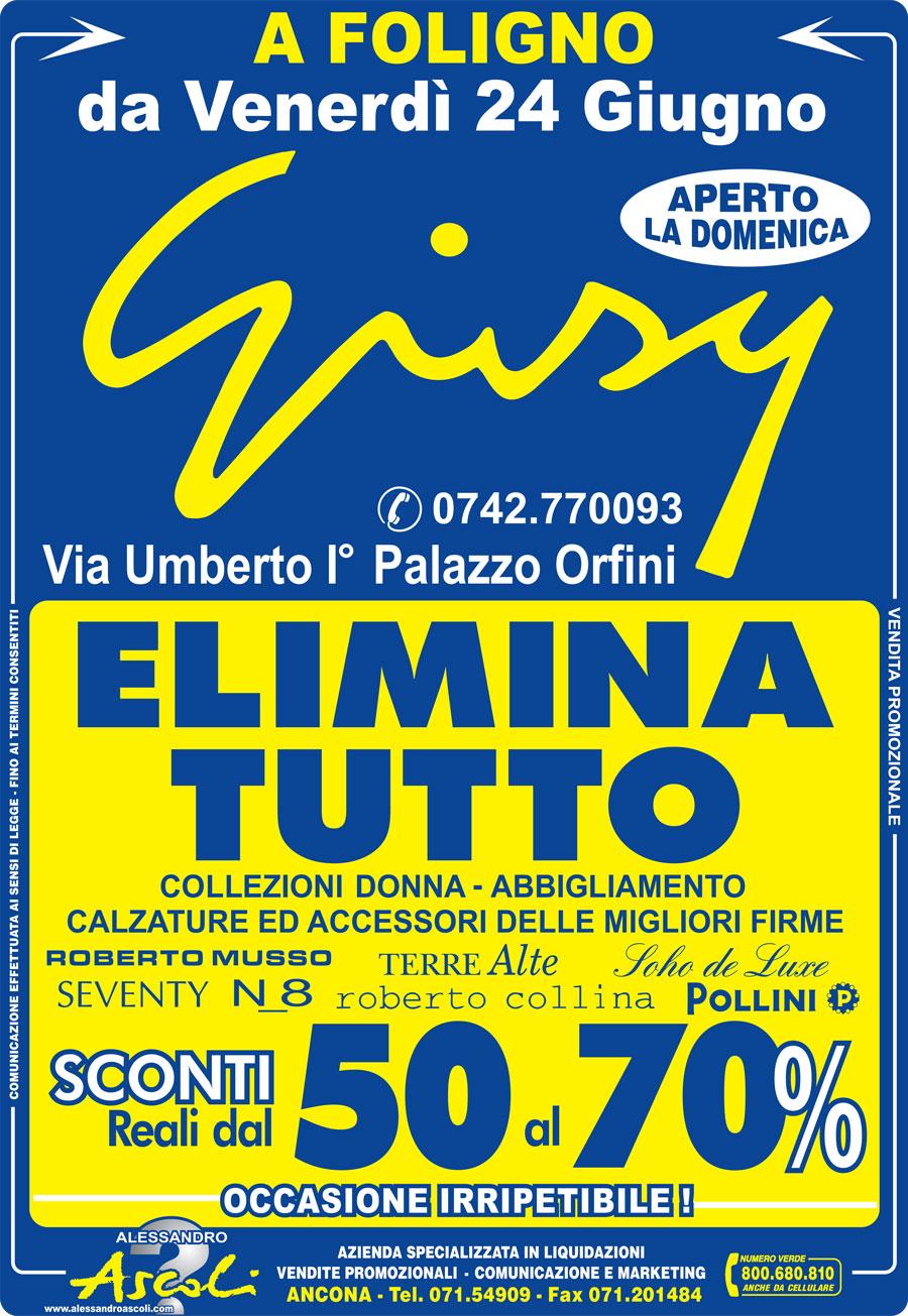 Organizzazione Svendita Abbigliamento Donna Giusy