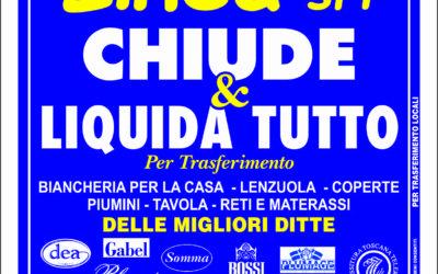 A LODI: LINEA SRL CHIUDE LIQUIDA TUTTO!!!