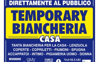 Rende (CS): Temporary Biancheria Casa FUORI TUTTO!