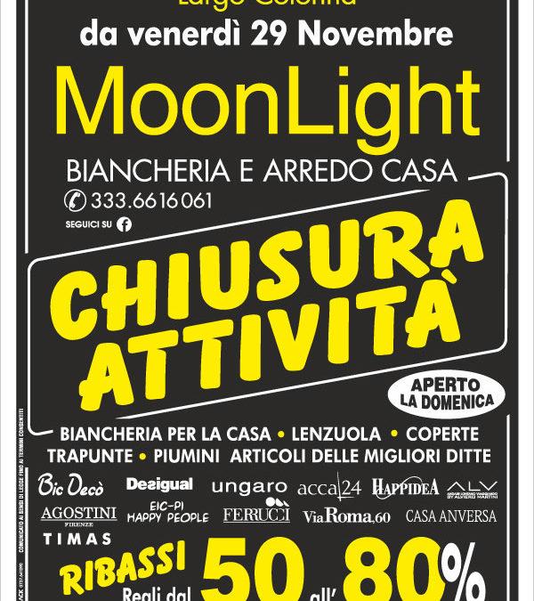 Castel di Sangro: Moonlight chiude ed elimina tutto!