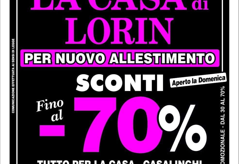 Siracusa: La Casa di Lorin fino al 70%!