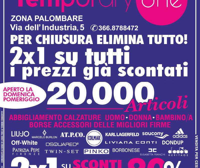 Ancona: TemporaryOne ELIMINA TUTTO!