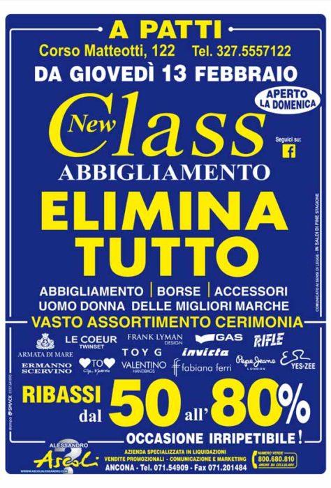 Patti: NEW CLASS ELIMINA TUTTO!