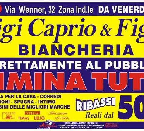 Liquidazione Totale Luigi Caprio a Salerno
