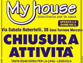 My house: Liquidazione totale