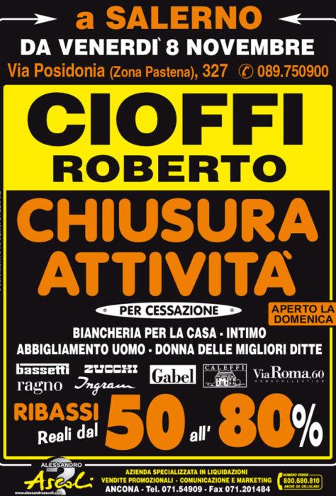 Liquidazione per Cessazione Attività Cioffi – Salerno