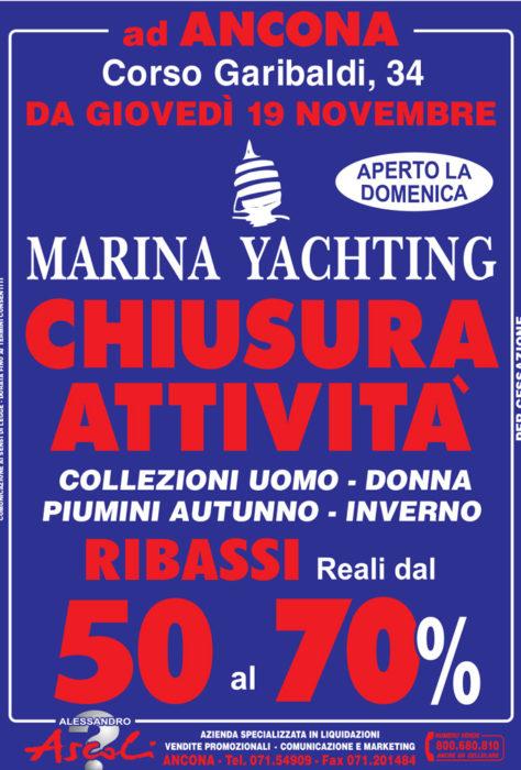 Chiusura Attività Marina Yachting