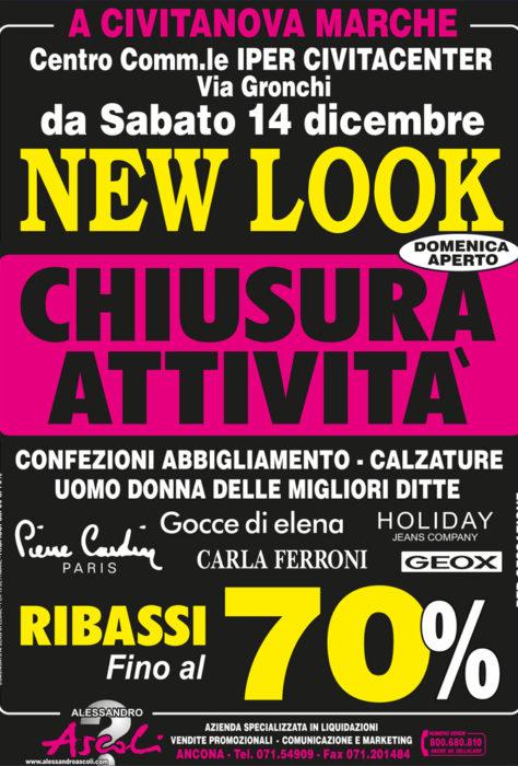 Chiusura Attività New Look