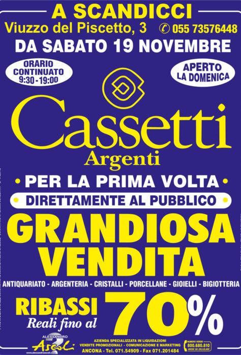 Svendita Cassetti Argenti