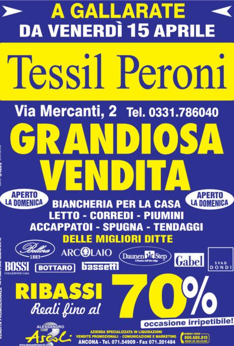 Grandiosa Vendita di Tessil Peroni