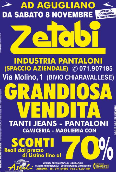 Vendita Promozionale Zetabi