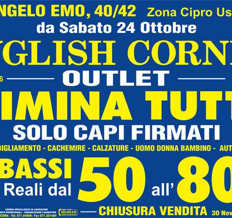 Vendita Promozionale English Corner